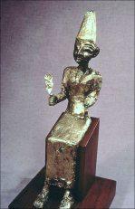 Late Bronze statuette